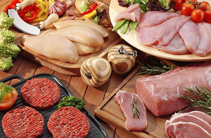 Įvairi mėsa