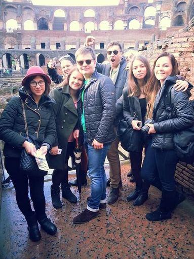 Asmeninio albumo nuotr./Bertos Timinskaitės atostogų Romoje akimirka