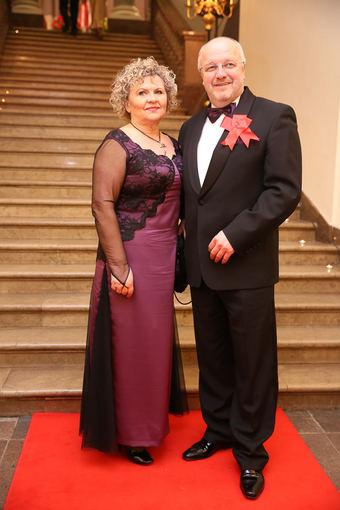 Luko Balandžio/Žmonės.lt nuotr./Juozas Olekas su žmona Aurelija