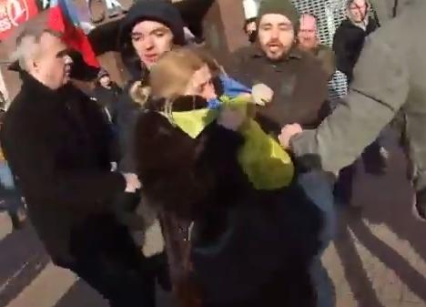Youtube.com stopkadras/Donecke užpulta ukrainietė