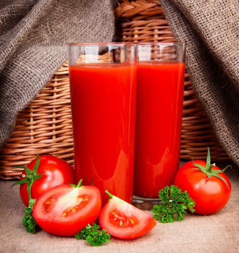Shutterstock nuotr./Pomidorų sultys
