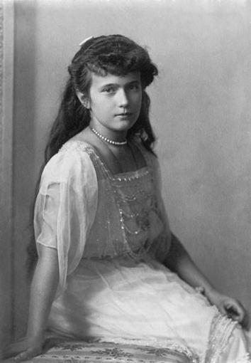 wikimedia.org nuotr./Romanovų dinastijos Rusijos caro Nikolajaus II dukra Anastazija