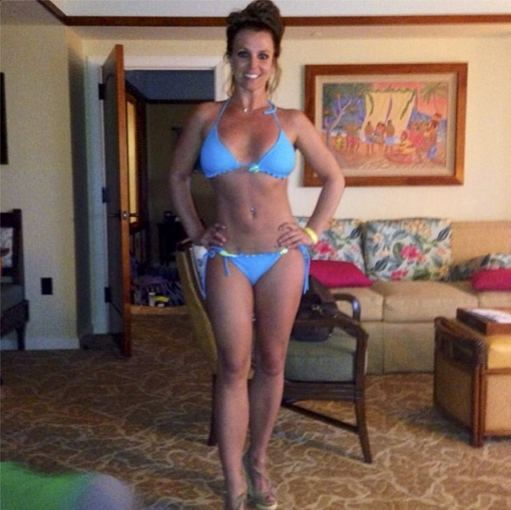 """Instagram"" nuotr./Britney Spears Havajuose"