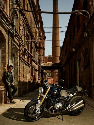 "BMW nuotr./""BMW R nineT"" motociklas"