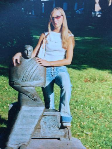 Asmeninio albumo nuotr./Greta Lebedeva 17 metų