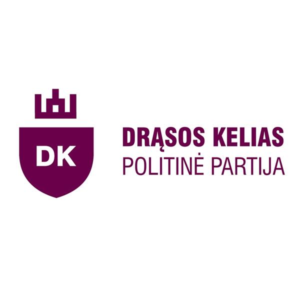 """Logotipas/""""Drąsos kelias"""" politinė partija"""