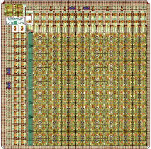 VGTU nuotr./VGTU mokslininkų sukurto išmaniojo elektronikos lusto topologija