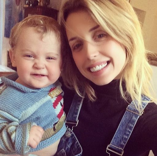 """Instagram"" nuotr./Peaches Geldof su sūnumi Phaedra"