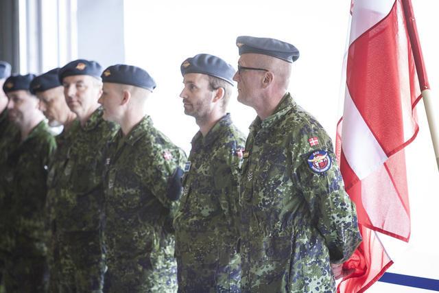 Danijos kariai su naikintuvais nusileido Estijoje