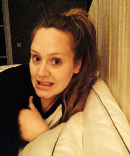 """Twitter"" nuotr./Adele"