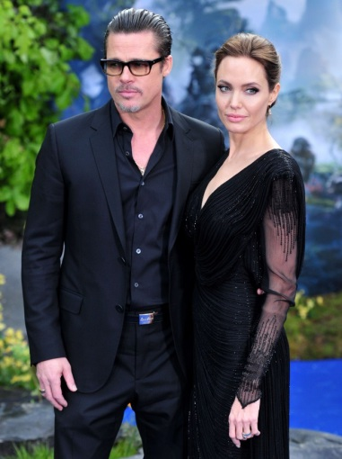 "AFP/""Scanpix"" nuotr./Bradas Pittas ir Angelina Jolie"