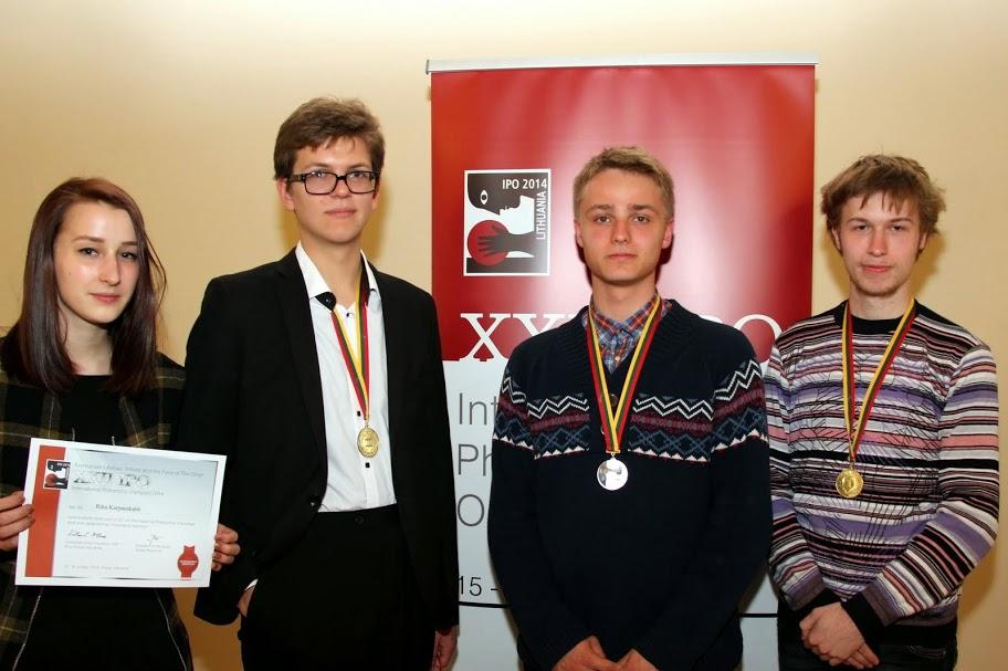 Filosofijos olimpiados nugalėtojai lietuviai