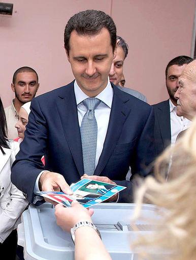 """Scanpix""/AY-COLLECTION/SIPA nuotr./Sirijos prezidentas Basharas al Assadas"