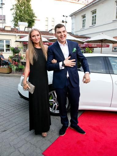 Gretos Skaraitienės/Žmonės.lt nuotr./Gintarė Gurevičiūtė ir Rolandas Mackevičius