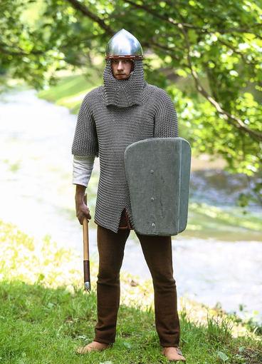 Luko Balandžio/Žmonės.lt nuotr./XII-XIII amžius, žiemgalių genties kostiumas