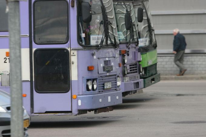 Alvydo Januševičiaus nuotr./Viešasis transportas Šiauliuose
