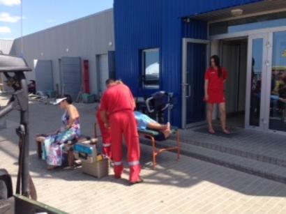 J. Pirožniko nuotr. /Nukentėjusiems į pagalbą pirmiausiai atskubėjo pajūrio gelbėtojai