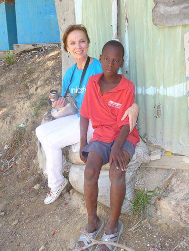UNICEF nuotr./Virginija Kochanskytė Haityje