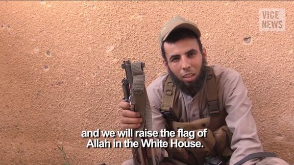 """""""Islamo valstybės"""" kovotojas"""