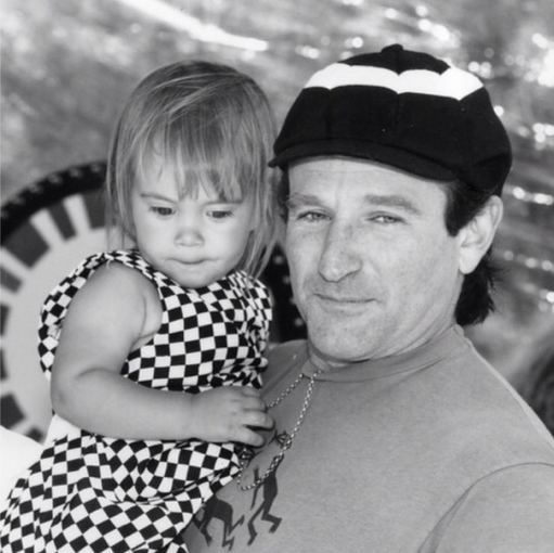 """Instagram"" nuotr./Robinas Williamsas su dukra Zelda Williams"