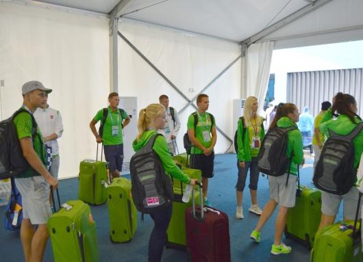 Jaunieji olimpiečiai jau atvyko į jaunimo žaidynes Kinijoje