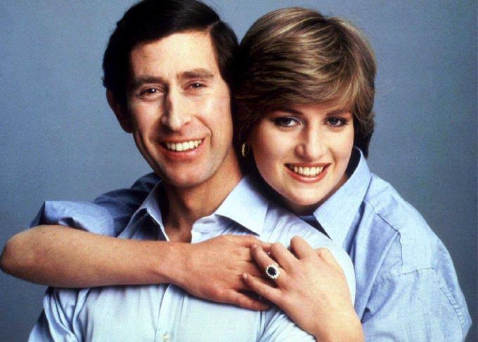 """""""Scanpix"""" nuotr./Princesė Diana su sutuoktiniu princu Charlesu"""