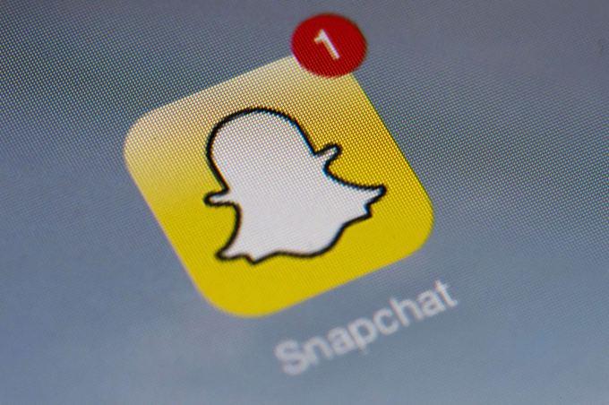 Scanpix nuotr./Snapchat logotipas