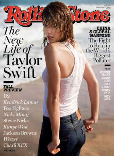 """""""Rolling Stone""""/Theo Wenner nuotr./Taylor Swift"""