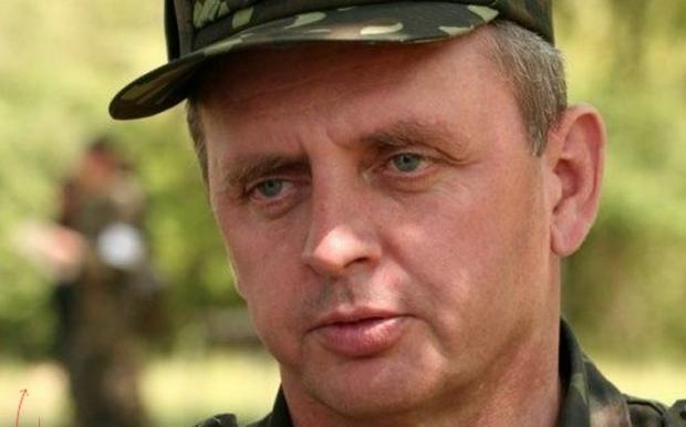 Ukrainos generalinio štabo viršininkas Viktoras Muženka