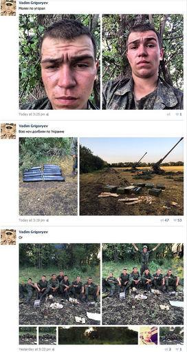 Socialinių tinklų nuotrauka/Rusijos karių nuotraukos iš socialinių tinklų