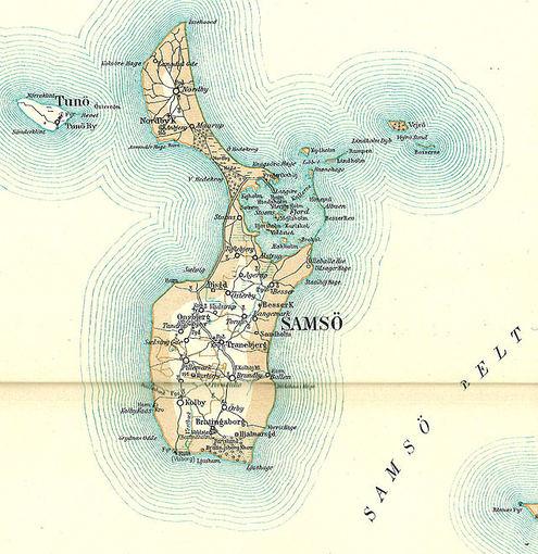 Wikimedia.org nuotr./Samso salos