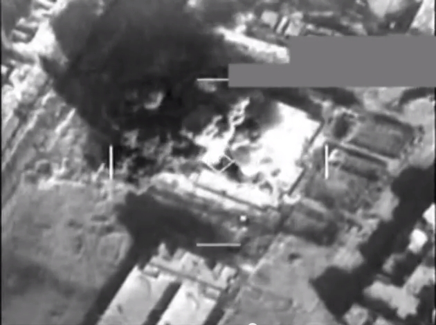 IS taikinių bombardavimas Sirijoje