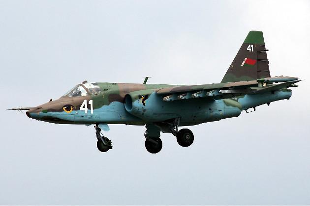 Baltarusijos naikintuvas Su-25
