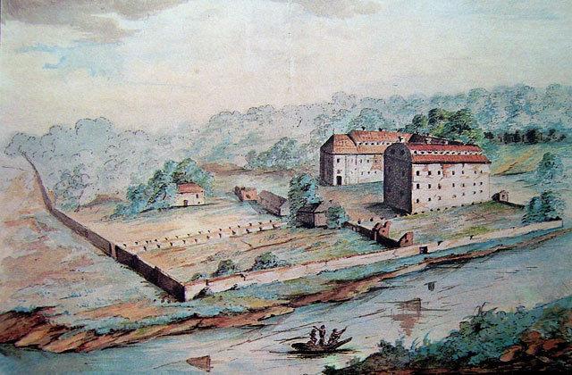 Marcelli Januszkiewiczius. Jėzuitų rūmai Vilniaus Vingyje,1836 m.