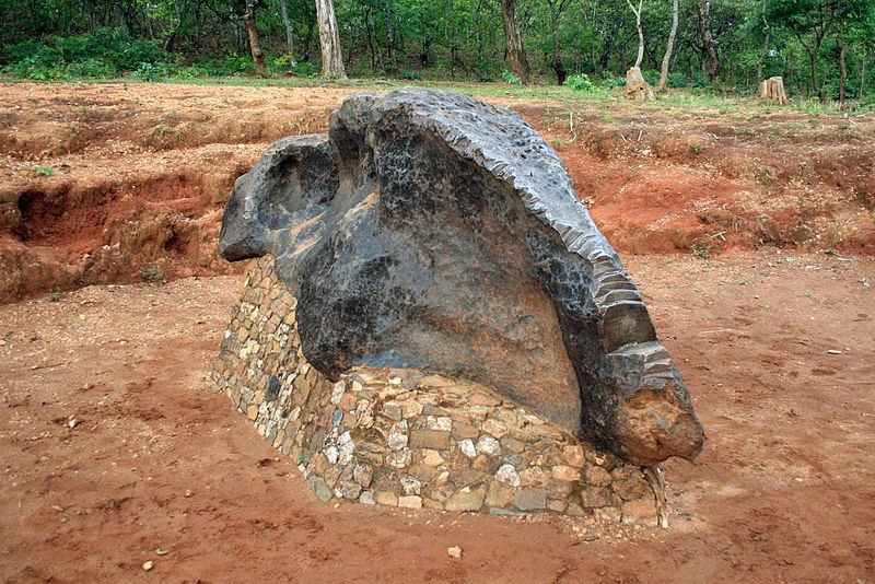 800 Mbozi meteoritas Tanzanijoje