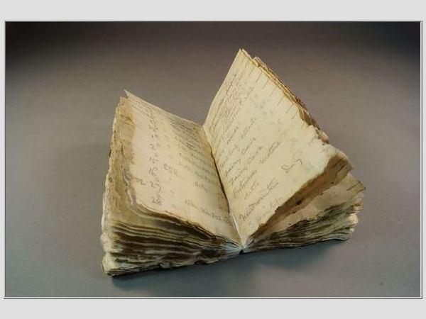 Roberto Scotto užrašų knygelė