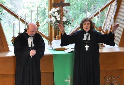 Lauma Zuševica tapo pirmąja latvių evangelikų liuteronų vyskupe
