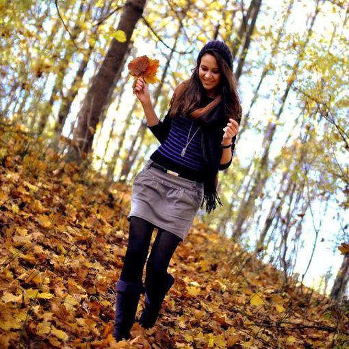 Ji24.lt skaitytojos nuotrauka/Monikos M. rudeninis stilius