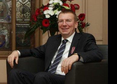 Latvijos ministras Edgaras Rinkevičius