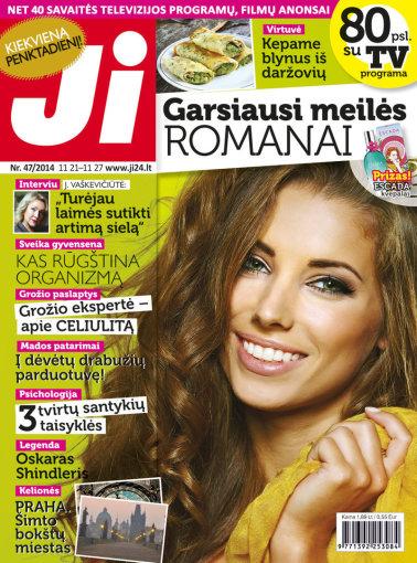 """Redakcijos archyvo nuotr./2014 m. lapkričio mėnesio žurnalo """"Ji"""" Nr. 47."""