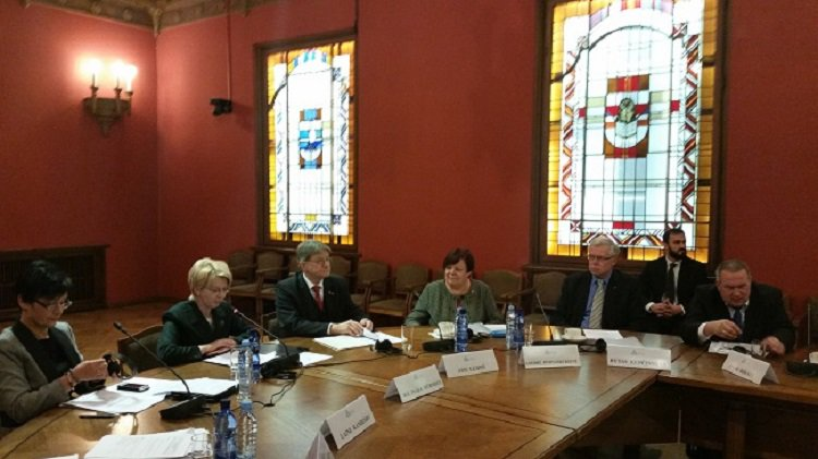 Baltijos asamblejos prezidiumo susitikimas Rygoje