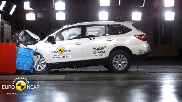 """Subaru Outback"" ""Euro NCAP"" teste"