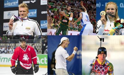 Geriausi metų Lietuvos sportininkai