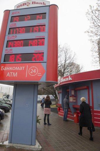 """""""Reuters""""/""""Scanpix"""" nuotr./Baltarusija, Minskas"""