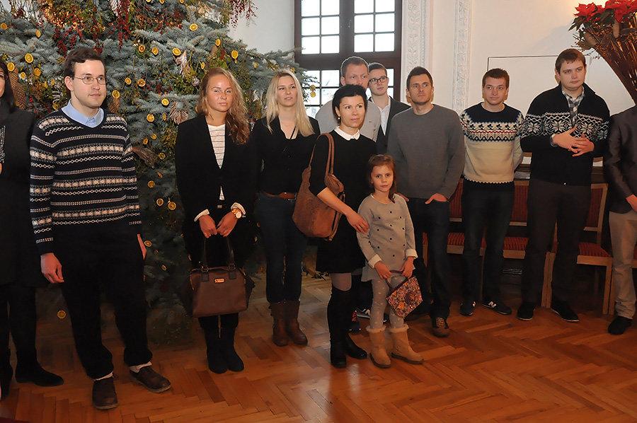 Kauno miesto rotušėje pirmadienį surengtas pirmasis pasaulio kauniečių susitikimas