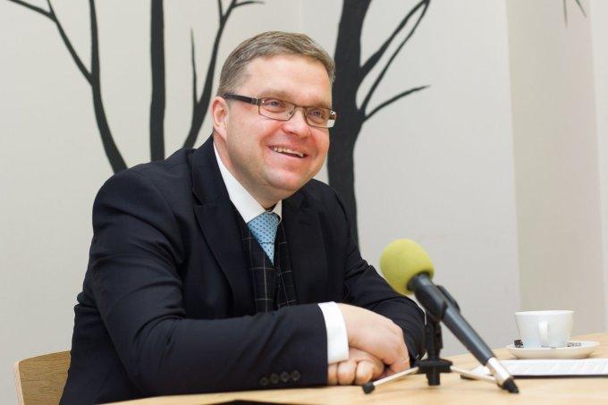 Irmanto Gelūno / 15min nuotr./Tiesioginėje 15min.lt konferencijoje – Lietuvos banko vadovas Vitas Vasiliauskas