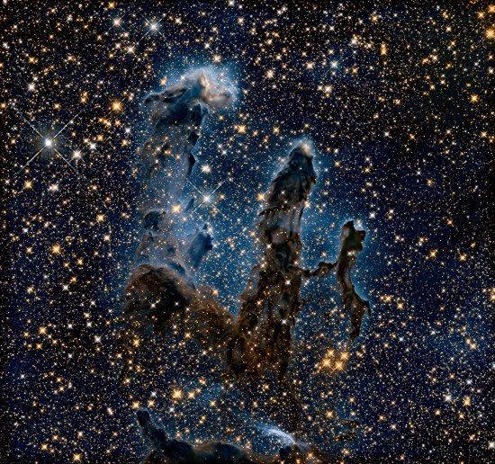 NASA nuotr./Pillars of creation