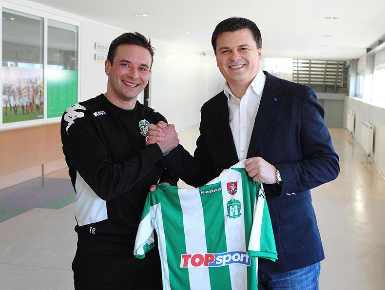 Vytautas Lukša ir Mindaugas Nikoličius