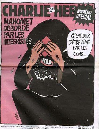"""2006 m. – Pranašas Mahometas skundžiasi fundamentalistais: """"Sunku, kai tave myli šikniai"""""""