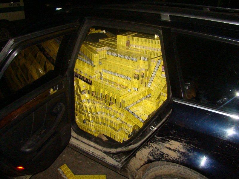 Konfiskuotos kontrabandinės cigaretės